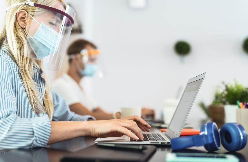 Peut-on remplacer son masque par une visière de protection?