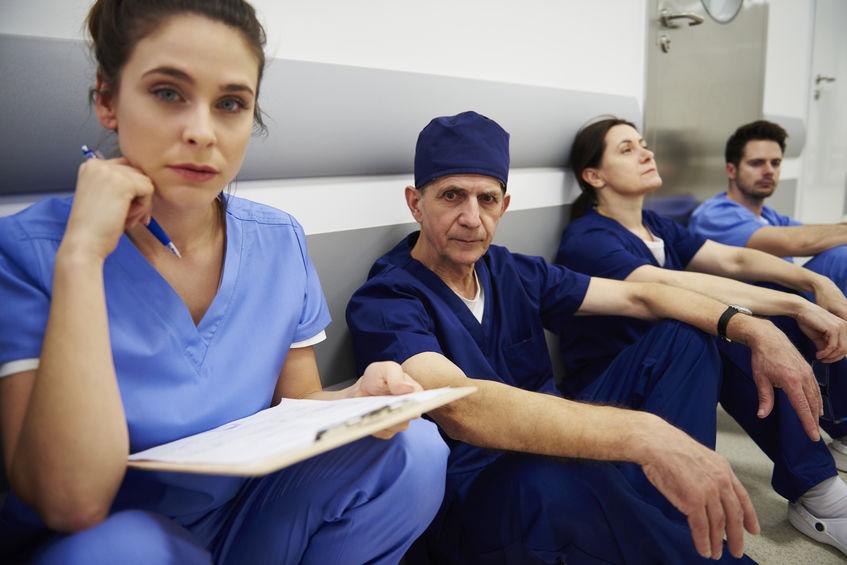 La santé mentale des infirmiers à rude épreuve face à la crise de la Covid-19